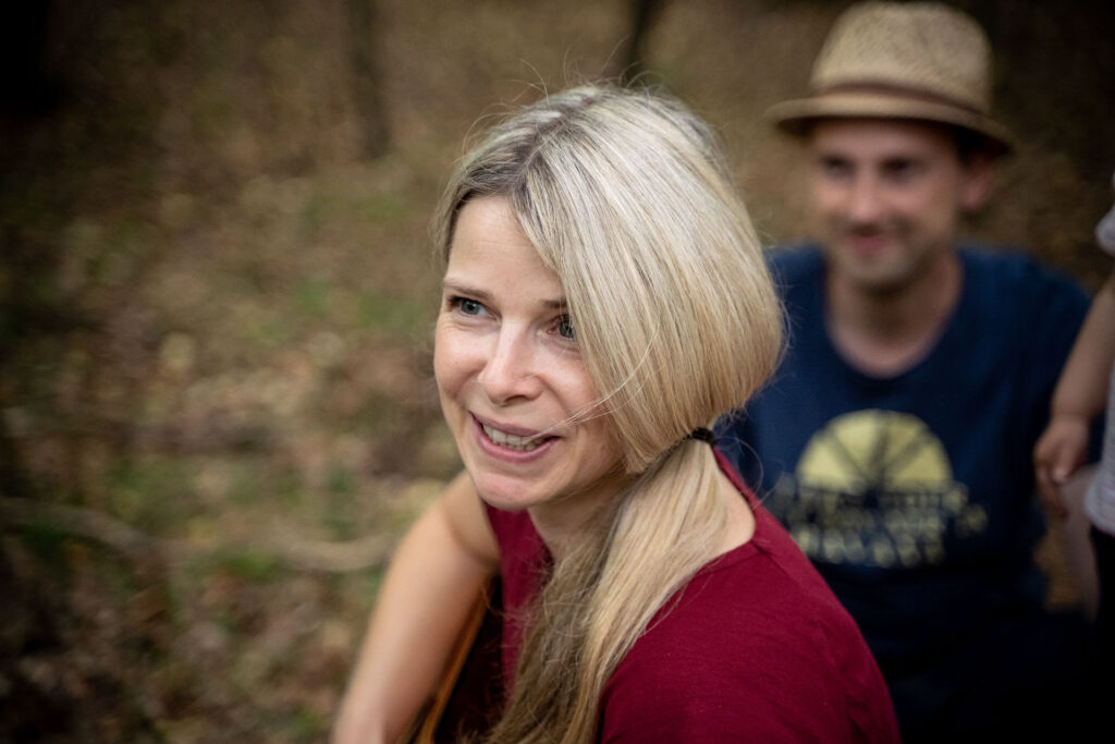 Waldpädagogin Kerstin Wessel